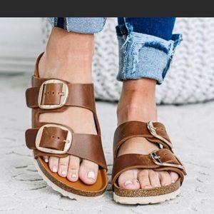 New Birkenstock Big Buckle Arizona Sandals, 35